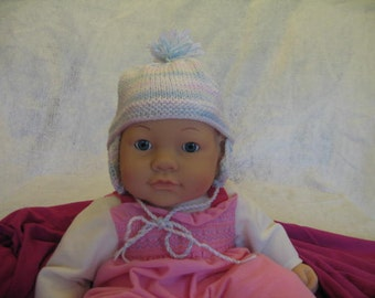 Mullti Colored Knitted Baby Hat