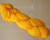 Hand Dyed Alpaca Yarn in Calendula Sport Wt 250 yds / 100 gr