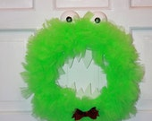 Green Monster Wreath