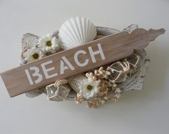 beach sign, rustic wedding decor, beach decor, beach wedding decor, beach shack decor, coastal home decor