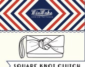 Square Knot Clutch Pattern PDF