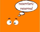 reserved for Victoria S.