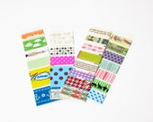 PIF - Washi Tape Sampler (3 feet). Many colours and designs to choose from.