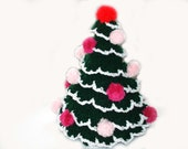Crochet Christmas Tree hat, table decoration. CHRISTMAS SALE - 10% off with coupon CHRISTMAS10 - Mriya
