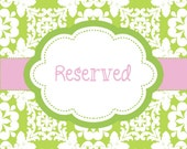Reserved listing for April