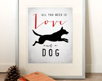 quote art print inspirational art dog quotes dog lovers