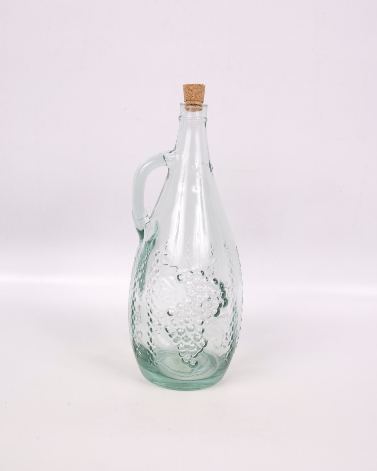Unavailable listing on etsy for Green glass wine bottles