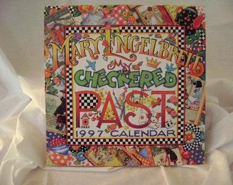 "Mary Engelbreit 1997 Wall Calendar ""My Checkered Past"""