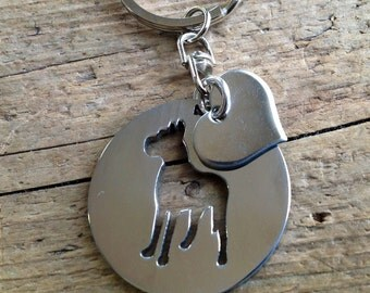 New Cocker Spaniel Keychain Dog Lover By Tagsoup On Etsy