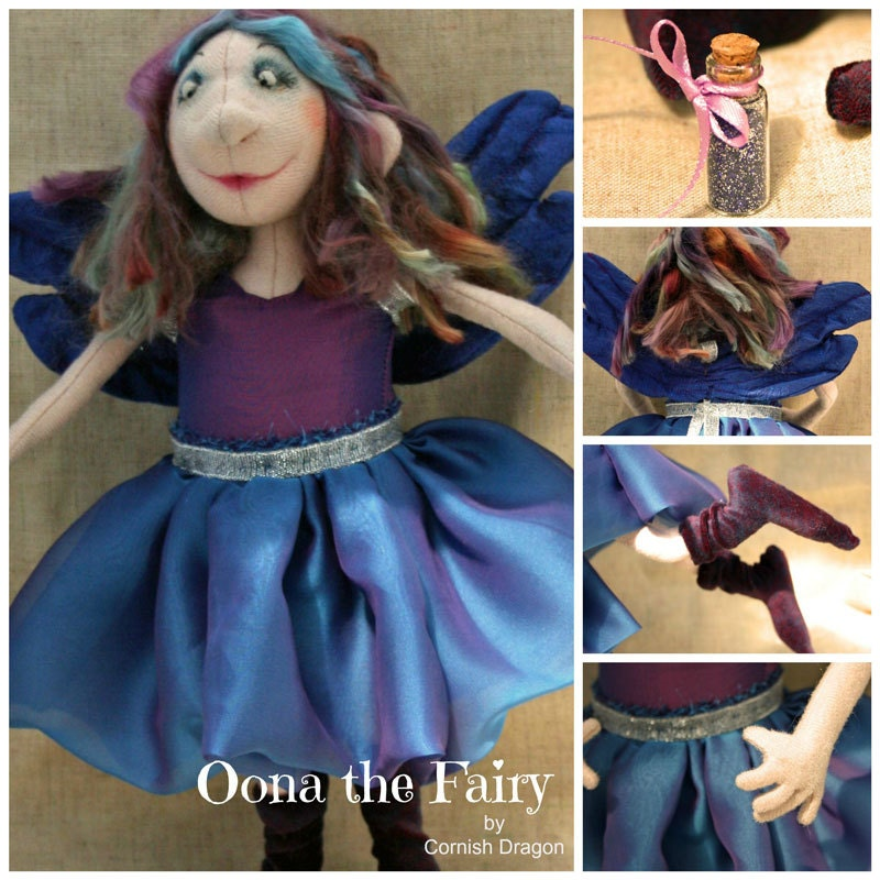 Fairy doll handmade by Cornish Dragon