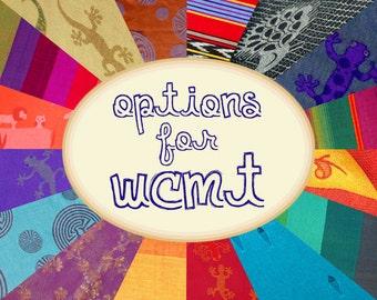 Options for the WCMT - Hood (Read description)