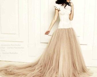 Wedding dress, wedding gown, prom dress, dropped waistline, designer dress, custom made,