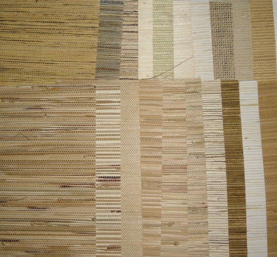 Grasscloth Wallpaper Samples: Wallpaper Samples Discontinued Grasscloth By