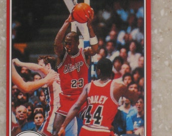 1985 star company michael jordan rookie red authentic looking card