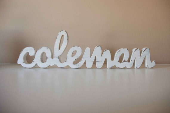 Baby Name Custom Nursery Decor