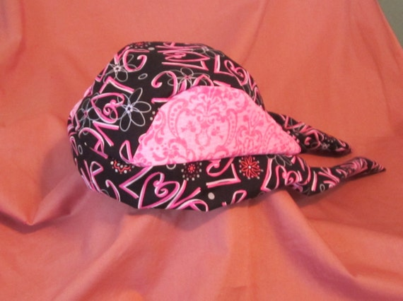 Pink Love Gone Wild Do Rag Two Different Pink Patterns