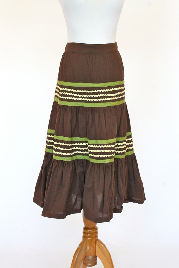Vintage Mexican Skirt 56