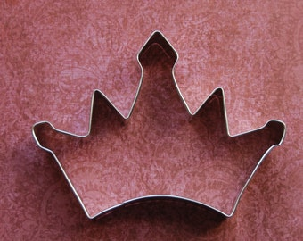 Crown King or Queen Cookie Cutter