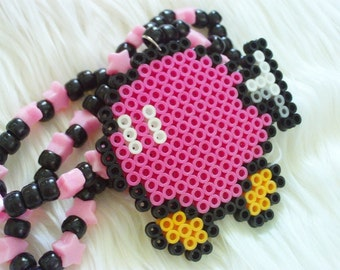 Pink Bob-omb Necklace