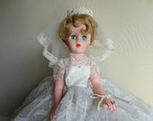 Bride Doll 1950s Free US Shipping