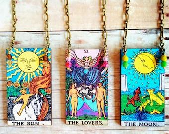 Tarot Card Necklace