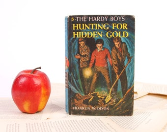 Hardy Boys Book Kindle Cover, Nook Cover- Ereader Case- Hardy Boys- Hunting for Hidden Gold