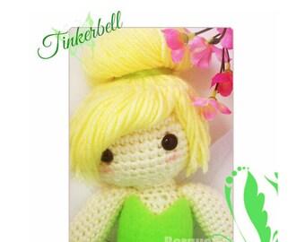 Crochet Doll - Fairytale - Tinkerbell