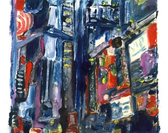 Times Square Giclee Print