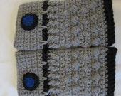 Dalek Fingerless Gloves
