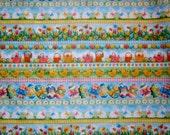 DESTASH - 1M Pretty Easter / Spring 100% Cotton by Makower uk