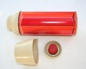 Vintage King Seeley Thermos 1974, Thermos, beverage keeper,