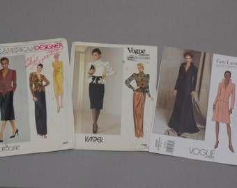 Vogue Couture Designer Sewing Patterns
