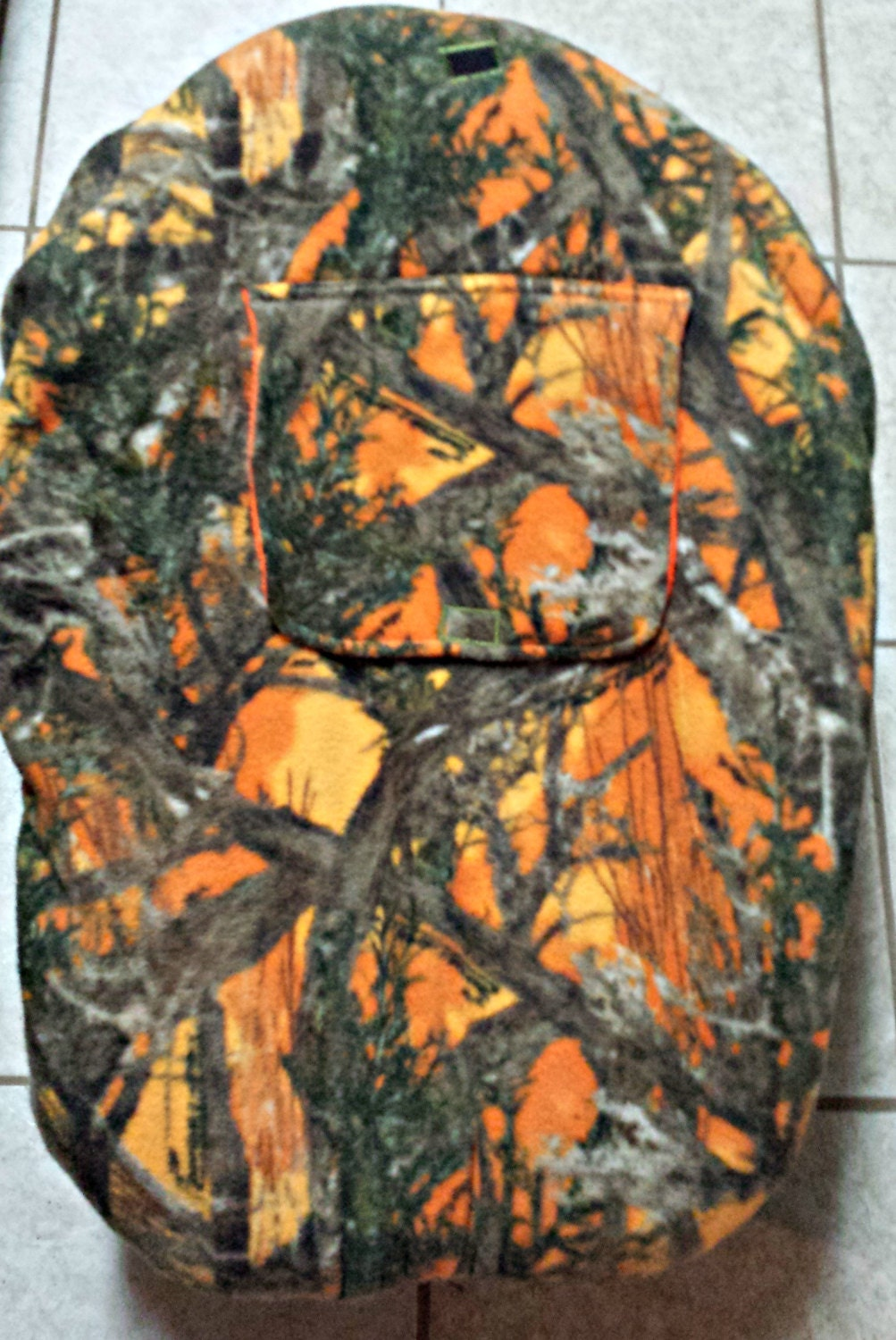 True Timber Mc2 Orange Camouflage Cotton Realtree Baby Carrier