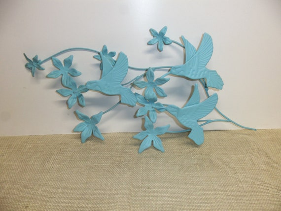Hummingbird decor hummingbird wall decor upcycled wall for Hummingbird decor