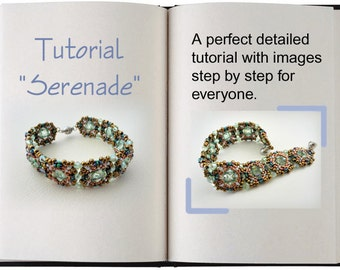 Jewelry Tutorial.... Serenade... Bracelet