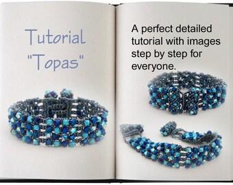 Jewelry Tutorial.... Topas... Bracelet
