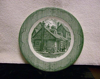 The Old Curiousity Shop Dinner Plates Set of 10