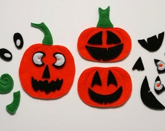 ITH Build A Pumpkin Embroidery Design INSTANT DOWNLOAD