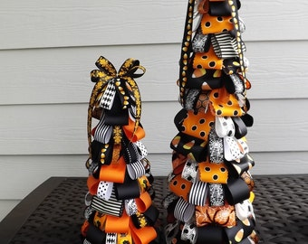 Halloween Ribbon Tree
