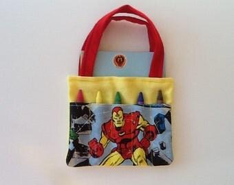 Ironman Children's Crayon Bag / Party Favors