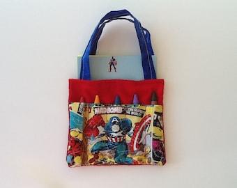 Hero Children's Crayon Bag / Party Favors