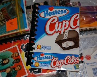 Hostess Cupcake notebook
