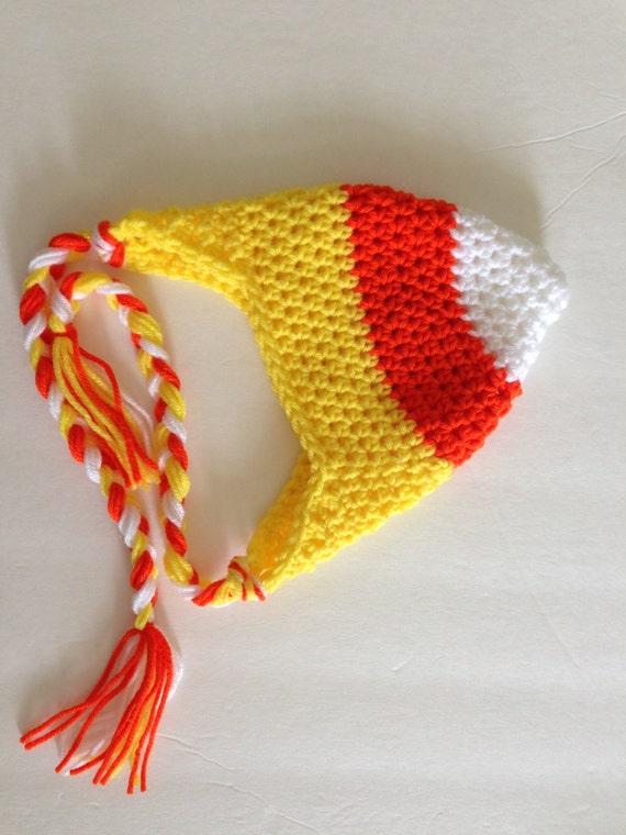 Candy Corn Hat Halloween Crochet