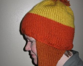 Handmade Jayne Cobb Firefly Hat Rust Earflaps