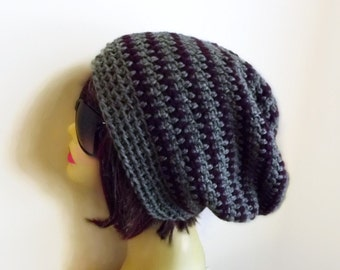 Slouchy Beanie, Crochet Beanie Hat, Womens Accessories, Slouch Hat, Hair Cover