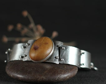 Orange Quartz Bracelet