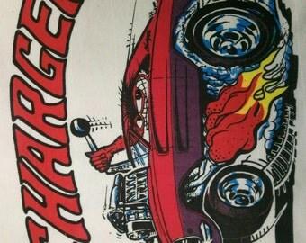 Dodge Charger T Shirt vintage