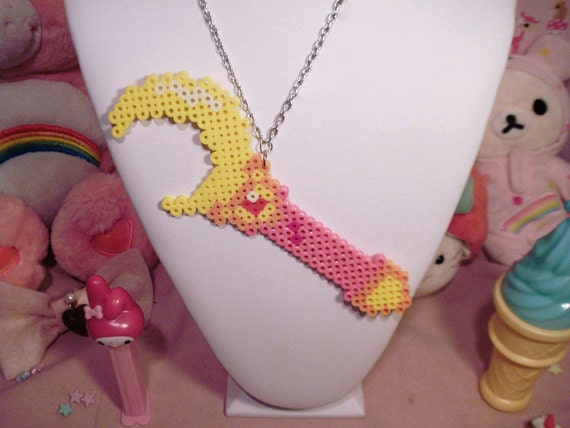 Sailor Moon Crescent Wand Necklace