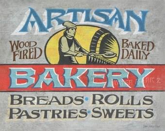 Artisan Bakery  Print