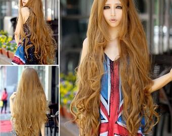 Shantelle // Long Golden Full Synthetic Wig